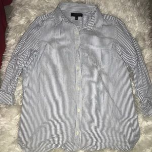 Banana Republic Classic Fit Button Up Top